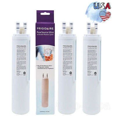 Frigidaire PureSource Ultra Kenmore 46-9999 Refrigerator Water Filter 1/2/3 Pack