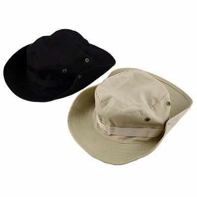 Bucket Hat Boonie Hunting Fish Outdoor Wide Cap Brim Military Unisex Perfect FK