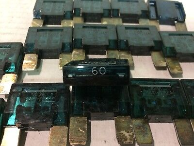 16 New 60 Max Amp Fuse . Sold As A Lot Of 16 Free Shipping