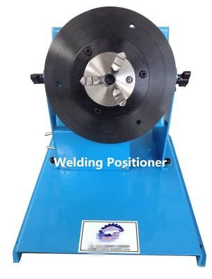 2-18RPM 10KG Light Duty Welding Turntable Positioner with 65mm Chuck b