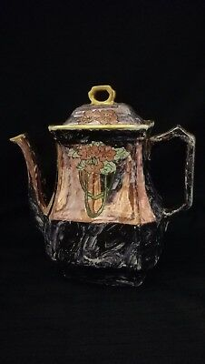 Antique Ironstone China J&G Meakin Eastwood Works Hanely England Coffee Tea Pot