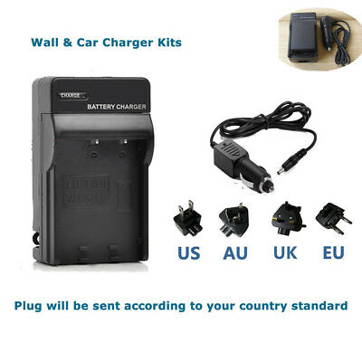 NP-W126 AC/CAR Charger for Fujifilm NP-W126 FinePix HS30EXR X-A1 X-M1 X-Pro1