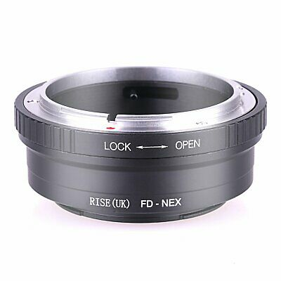 Adapter Ring for Canon FD FL Lens to Sony E Mount NEX-3 NEX-C3 NEX-5 NEX-6 NEX-7