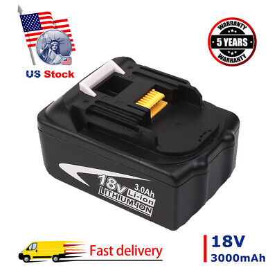 18V Lithium-Ion Battery For Makita LXT BL1830 BL1815 BL1845 BL1850 3.0Ah Tool US