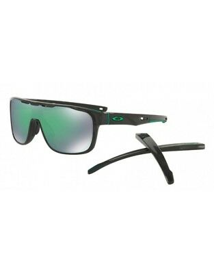 1032f106b66 Sunglasses OAKLEY CROSSRANGE SHIELD 9387-03 Black Ink Prizm Jade Iridium