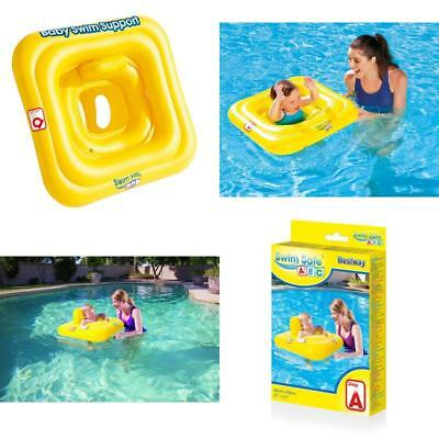 Bestway Baby Seat 0-12 Month Swim Safe Support Swimming Inflatable Float Bw32050