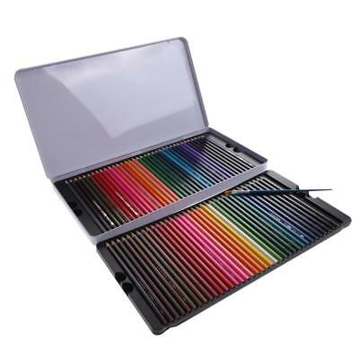 72 Colors Watercolour Pencil Set Soluble Non-toxic Art Drawing&Painting+Brush