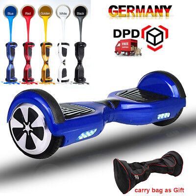 6.5 Zoll Elektro-Scooter HOVERBOARD Self Balancing Scooter Overboard mit Tasche
