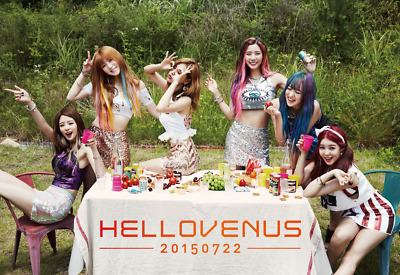 HELLOVENUS [I'M ILL] 5th Mini Album CD+Photobook+Photocard SEALED