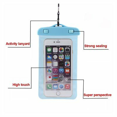Waterproof Floating Swim Drifting Cell Phone Bag Armband Case Cover Pouch