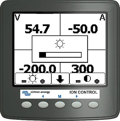 Ion control Victron Energy protection solaire