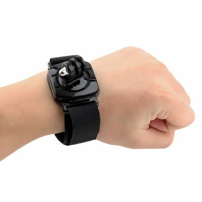 360 Degree Rotation Wrist Arm Strap Band Hand Belt For GoPro Hero 1 2 3 3+ 4