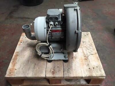 Single Phase Air Vacuum Blower 1.1kW Electric Motor 2800RPM 2-Pole 240v 1100w