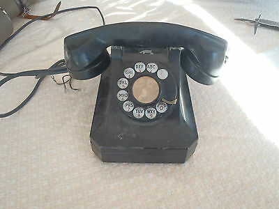 Stromberg Carlson Antique Vintage Pyramid Telephone