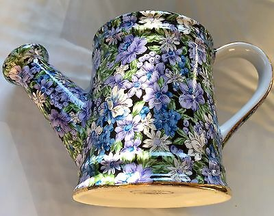 TWC3 pattern by Two's Company - Chintz Mollie Porcelain Pitcher WATERING CAN