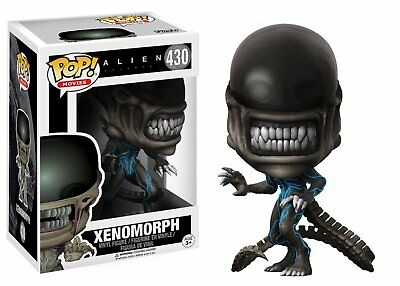 Alien: Covenant - Xenomorph Action Figure (Standard Size and Color, 9 cm Tall)