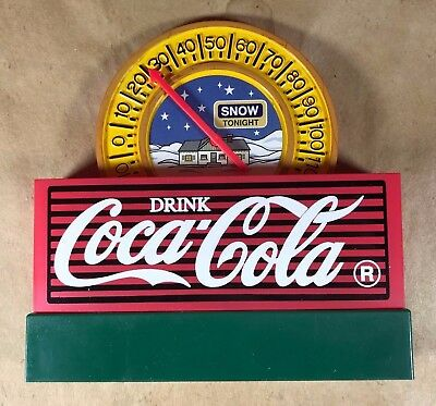 About 1996 Coca Cola  Display Thermometer      P- 47  L- 3