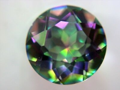 MYSTIC QUARZ  -  ROUND FACET  -  10 mm  -  3,32 ct.