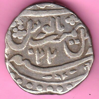 Jaisalmer State-In The Name Of Mohammed Shah-Ry:22-One Rupee Silver Coin-15