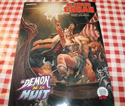 King Conan (Artima Color Marvel Geant) Le Demon De La Nuit Aredit 1984 Tbe