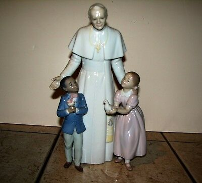 Lladro Pope John Paul II Limited Edition No 973 of 2500 Artist/Sculptor Signed