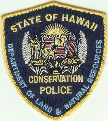 Hawaii Game Warden Patch V1