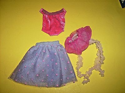 Groovy Girl doll Clothes Manhattan toy lot plush doll mixed items Tutu Beaucoup