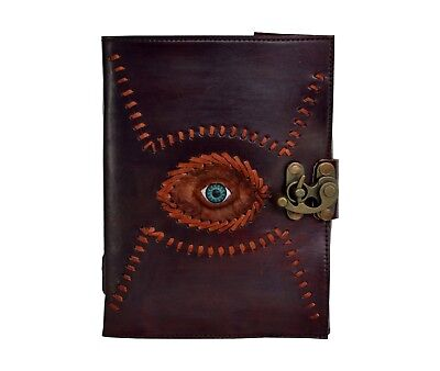 4.5X6 Vintage Look Hand Made Hand Stitched Leather Journal