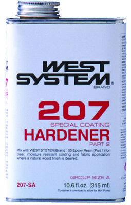 Boat Marine West System Special Clear Hardener Part 2 10.6 Fl. Ounce 207SA