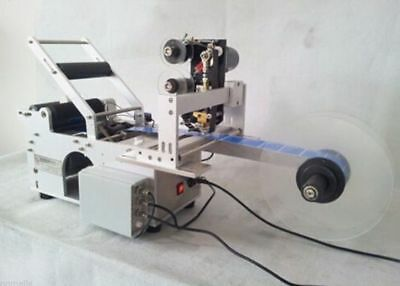 Automatic Round Bottle Labeling Machine with Date code printer,labeller b