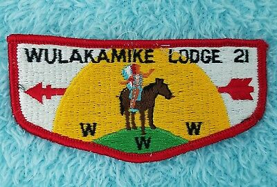Wulakamike Lodge 21 S1 First Flap Indianapolis IN -Excellent!