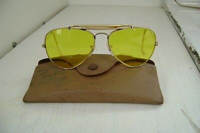 Vintage 1960S Authentic Ray Ban Sunglasses With Original Case Very Nice