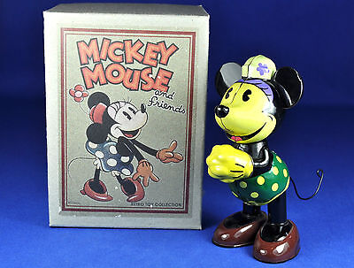 Blechspielzeug Young Epoch Aufziehfigur / Wind-up Tin Toy Minnie Mouse, Disney