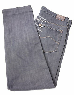 ARMANI Boys Jeans Size 16 Large W32 L30 Blue Cotton Straight