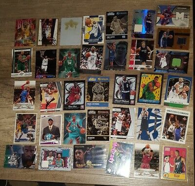 Mega NBA Superstars Lot JSY,RC,Inserts,1of1...Kobe,James,Jordan,CP3,Rose,Wade...