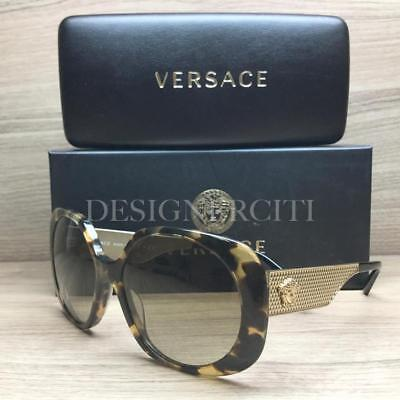 48c874381ffe VERSACE MOD 4331 Sunglasses Honey Tortoise Gold 988 13 Authentic 57mm -   94.95