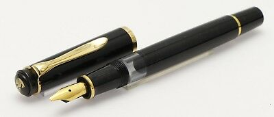 Pelikan m 250 black with Stub nib ca 2000 NOS