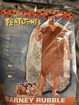 Barney Rubble Flintstone Costume