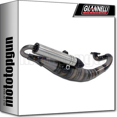 Giannelli Full System Exhaust Race Rekord Kymco Super 8 50 2T 2011 11 2012 12