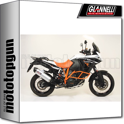 Giannelli Kit Exhaust Maxi Oval Carbon Cup Ktm 1290 Super Adventure R 2017 17