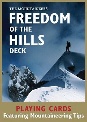 Freedom of the Hills Deck: Playing Cards Featuring Mountaineering Tips | Mountai