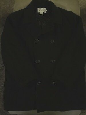 Mens J.crew Peacoat Black Sz M Medium
