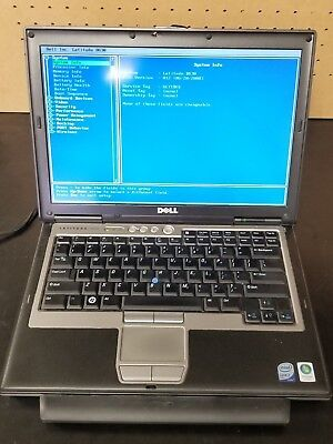 Dell Latitude D630 (Core2Duo 2.20 CPU, 3GB RAM, No HDD, No OS) (FOR PARTS ONLY!)