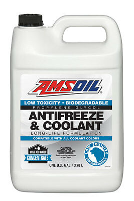Amsoil  Low Toxicity Antifreeze and Engine Coolant  1 Gallon