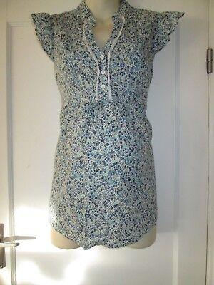 Pretty Size 16 Floral New Look Maternity/nursing Top See Pics!!
