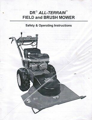 Genuine Dr All Terrain Field And Brush Mower Owner's Manual