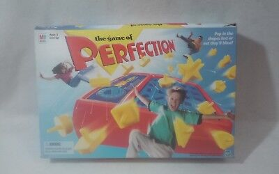 Perfection Game - Complete 1998 Version - Milton Bradley