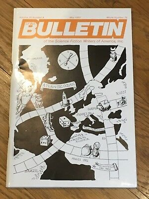 Bulletin of the SF Writers of America - May 1982 - Philip K. Dick is dead issue