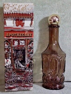 Avon Spicy After Shave Apothecary Decanter /  Bottle - Empty.