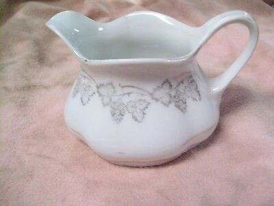 Vintage Mini Creamer With Grape Flower Design On It And Made In Bavaria